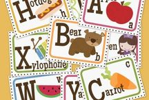 Early Childhood Alphabet / by Tina Wells