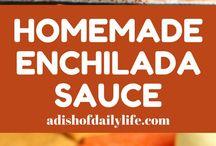 Mexican sauces