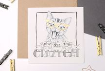 Animals Art: Cats & Dogs / Pets are a huge part of people's lives and come in all shapes and sizes. This is a selection of artworks, pet portraits, handcrafted creatures and animal themed cards, gifts and products from the talented artists and makers in the Etsy Manchester Team.