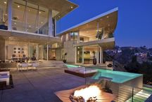 Avicii / Swedish DJ Avicii Spent $15.5 Million On This Bonkers Mansion In The Hollywood Hills  http://www.businessinsider.com/swedish-dj-aviciis-155-million-la-mansion-2014-3?op=1  McClean Design