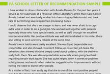 letter of recommendation for pa school
