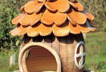 идеи кормушки для птиц