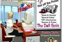 Barbie News and Doll Genie Info / New information about Barbie Dolls and events at The Doll Genie online website