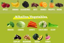 Alkaline Vs. Acidic Foods / Balancing the pH is a major step toward well-being and greater health.
