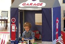 Car Room Ideas / Ideas for creating an amazing car-themed room for children
