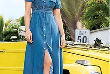 Denim Outfit / El Denim, infaltable en cada temporada, colección High summer 2017