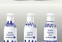 embalages produits laitiers