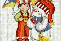 bordados navideños