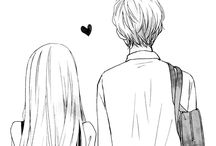 Manga couple \(*w*)/ ♥