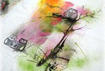 malovaná trička