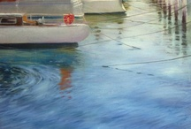 Landscape paintings by Dan Villiers / Dan Villiers is a leading artist from the Tamar Valley in Tasmania, Australia. He draws and paints with an emphasis on natural light and the way it enhances subjects.