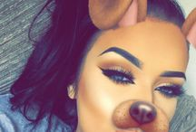✨WOLF✨ / snapchat dog filter for more clabs msg me add as much people as u want  love u all and pin away