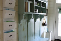 Mudrooms / by A Pop of Pretty Blog