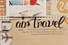 Scrappy Layouts: Travel