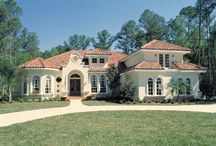 Mediterranean House Plans / These Mediterranean house plans include Italian style home designs, or as they are also called Tuscan style homes. All of these homes exude the warmth of Mediterranean living.