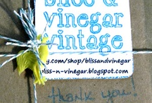 BlissandVinegar & Etsy / by Poppy
