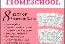 Homeschool- memory verses