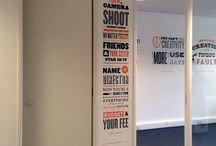 Office Graphics / Imaginative graphic designs to transform your workplace