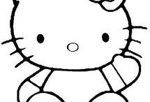 Hello Kitty / omalovánky