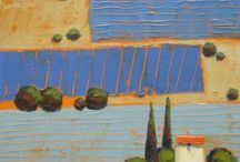 Art - Isabelle Merlet / Isabelle Merlet paints Provence in all it's many guises.