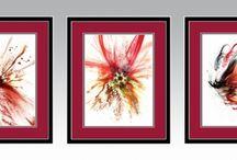 Wystawy / Exhibitions / Nowoczesne obrazy do salonu. Unique paintings. Unikatowe zdobienia obrazów do sypialni i jadalni.