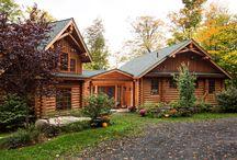 The Tumbleweed Log Home
