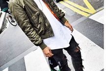 FASHION [] [] [] / [] #FASHION [] #OUTFIT [] #MEN [] #NIKE [] #BOMBERJACK [] #DENIM [] #BLACK [] #WHITE [] #STREET [] [] []