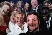 Famous people art