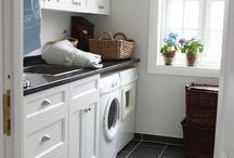 Beachy Laundry Room