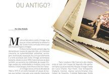 14º Edição Luxus Magazine / Vintage ou Antigo ? By Lilian Riskalla