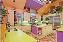 Dream Home / I love color, aliveness and things that cause me to both relax and enjoy life, so these homes and rooms and accoutrements all fit the bill for my eventual dream house.