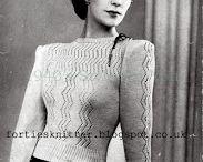 Vintage Knitting / by Emelie Gunnarsdotter