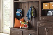 Cabinetry in Other Rooms / Using cabinets in other rooms like entry, laundry, living room, and more ideas