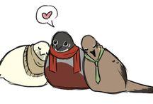 pigeon boyfriends