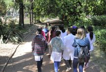 """Herbiers en Scène 2016 en Argentine / """"HERBIERS EN SCÈNE"""" EN ARGENTINE : un parcours de découverte botanique dédié aux plus jeunes. Le 22 novembre 2016, un parcours pédagogique a été proposé aux enfants dans le Jardin Botanique Carlos Thays à Buenos Aires. A travers cette expérience ludique, 120 enfants de 8 à 10 ans, soit 7 écoles, ont été sensibilisés aux enjeux du végétal."""