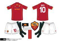 Kappa & Umbro football shirts