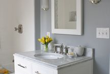 Bathrooms / Home decor inspiration for the powder room, bathrooms, and master bath.  / by Samantha Ward