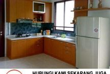 kitchen set pondok indah, bikin kitchen set cilandak, tukang kitchen set