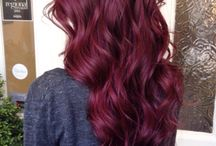Violet Red Toned Hair