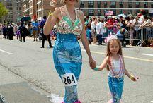 Mermaid parade ideas