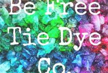 Be Free Tie Dye / Alternative tie dye techniques. Handcrafted with love and color.