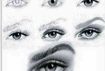 draw. eyes