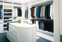 The Closet / Walk In Wardrobes, Dressing Rooms, Walk In Closet Designs...