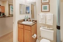 Apartment Bathrooms / The nicest bathrooms in the Best Apartments to rent in your area!