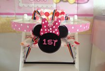 Minnie Mouse 1st Birthday / Creative ideas for a first year Minnie Mouse Theme Birthday!