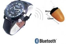 Spy Bluetooth Watch Earpiece / Secret communications need special spy devices like spy bluetooth watch earpiece can give what it takes and one can buy nano earpieces online india and delhi.