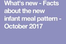 New Meal Patterns - October 2017