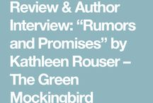 Book reviews and interviews!