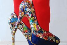 Super Hero / Feeling like a super hero? Maybe these awesome shoes will give you an extra lift.