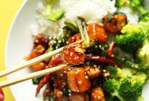 General Tao chicken or tofu